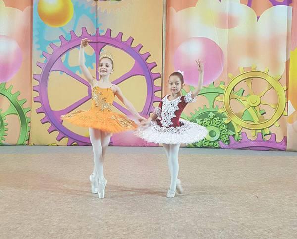 балет на конкурсе Рассвет талантов