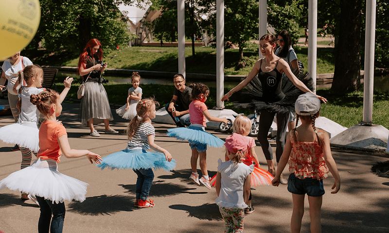 Балетный мастер-класс в красной пресне